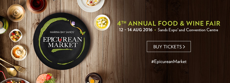 Epicurean Market 2016 - Singapore Feast