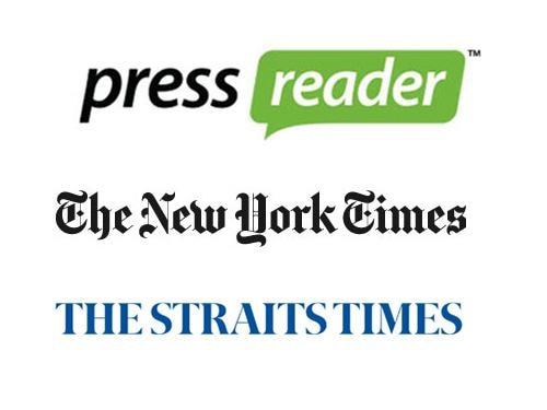 Complimentary Digital Newspapers and Magazines for hotel guests at Marina Bay Sands