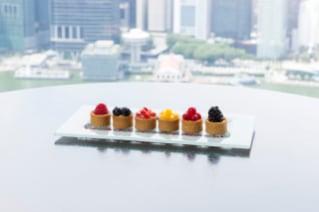 Seasonal Fruit Tartlets In Room Dining