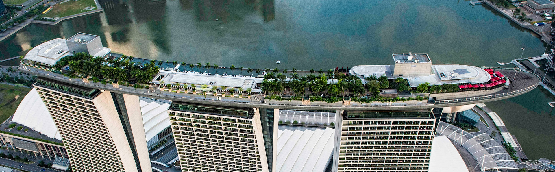 The Club In Marina Bay Sands With View Of Infinity Pool