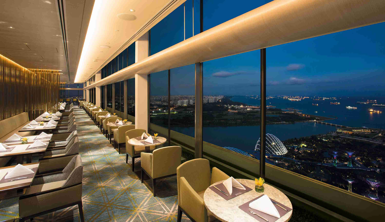 Basilico  Dining  Regent Singapore