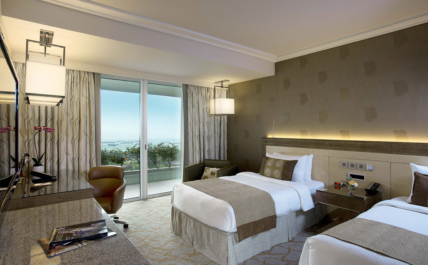 Orchid Suite at Marina Bay Sands Hotel