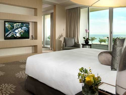 Bay Suite with Water Views at Marina Bay Sands Hotel