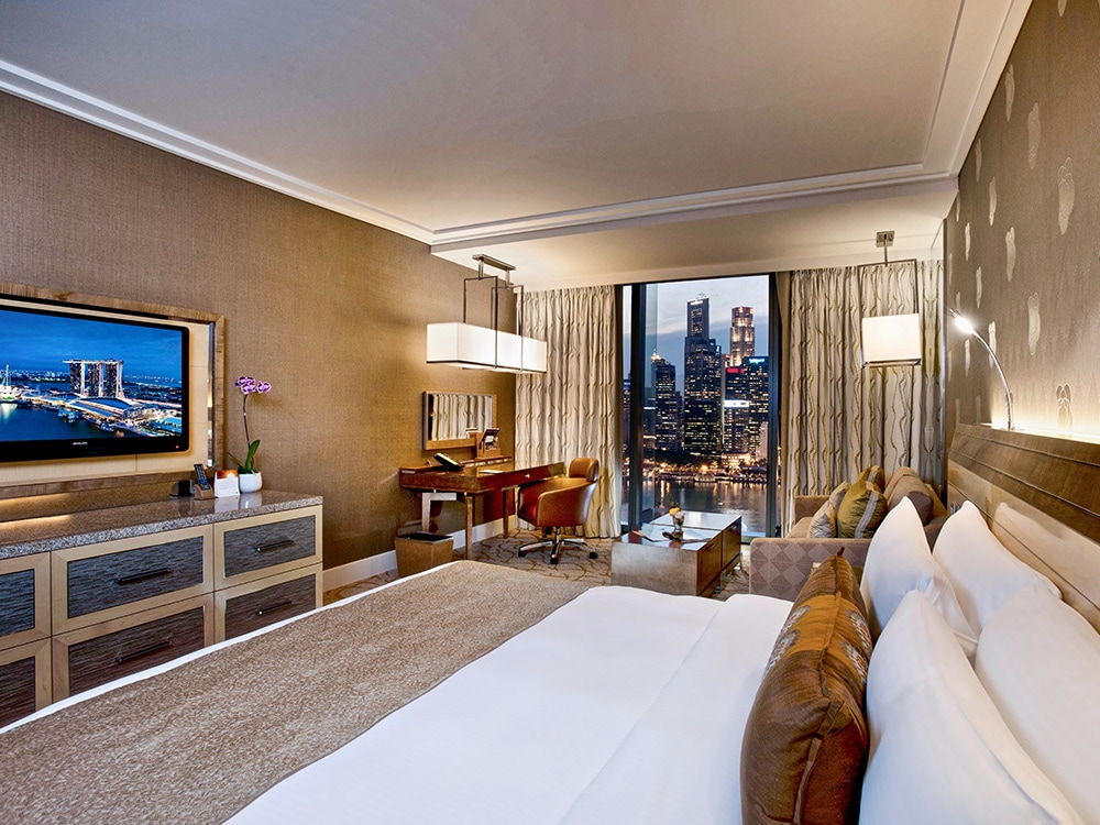 Deluxe Room of Marina Bay Sands Hotel in Singapore