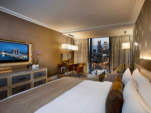 Deluxe Room with City View at Marina Bay Sands Hotel