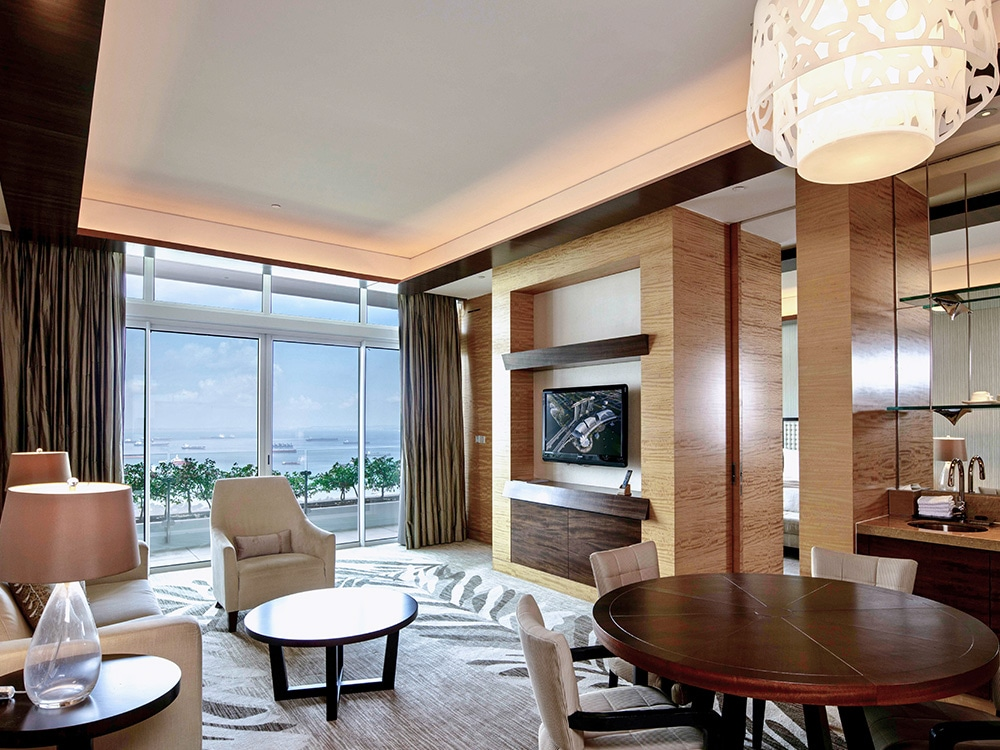 Harbour Suite at Marina Bay Sands Hotel