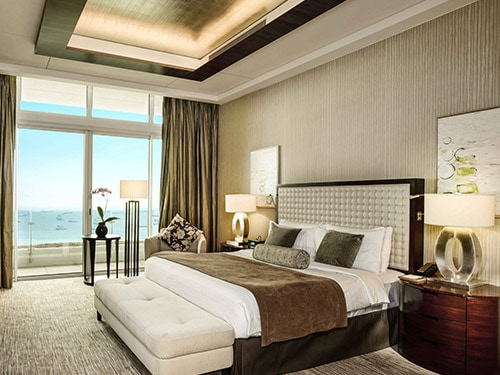 Marina Suite  for hotel guests at Marina Bay Sands