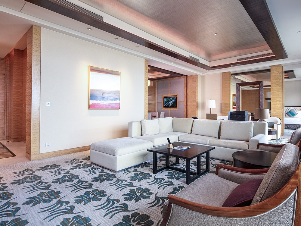 Merlion Suite for hotel guests at Marina Bay Sands