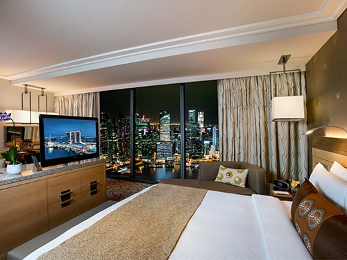 Orchid Suite with City View at Marina Bay Sands Hotel