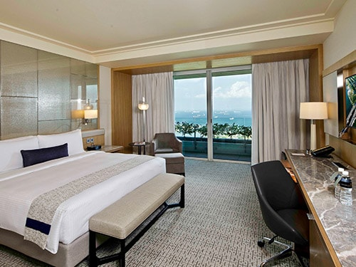 Premier Room with City View at Marina Bay Sands Hotel