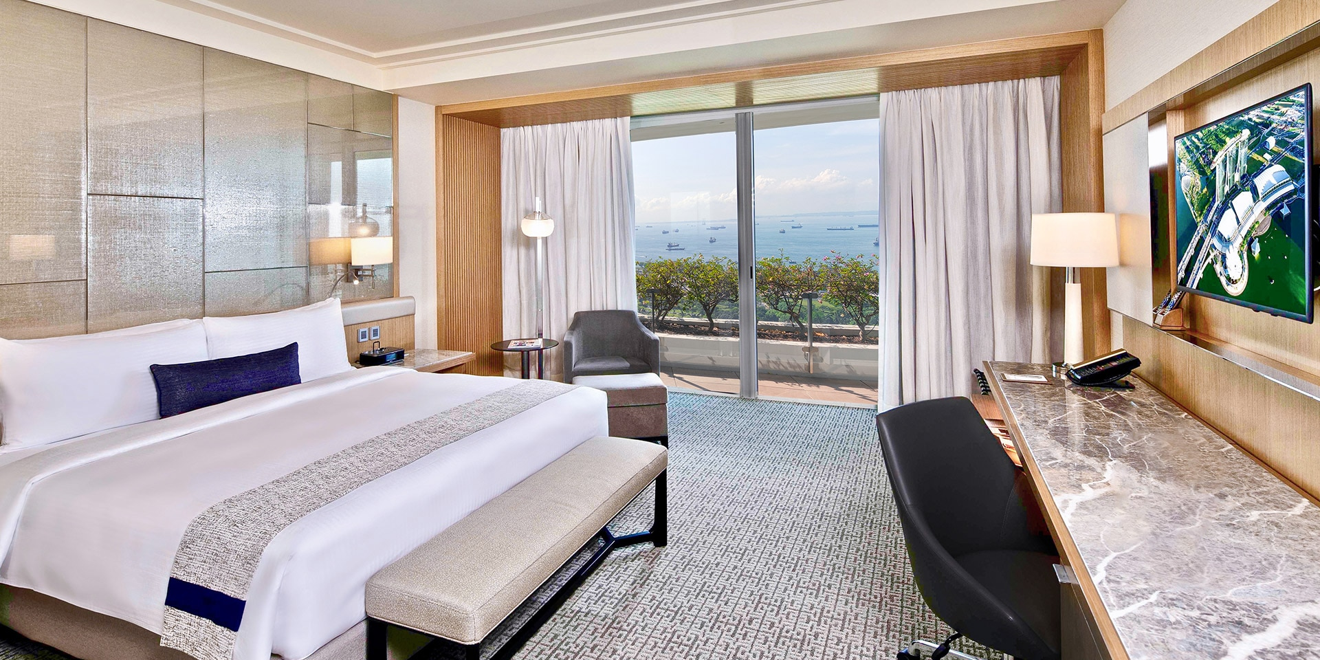 Premier Room in Marina Bay Sands Singapore Hotel