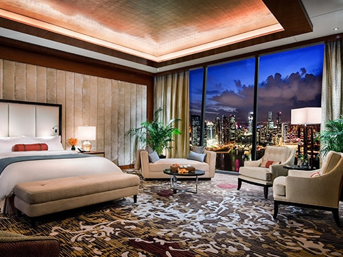 Presidential Suite at Marina Bay Sands Hotel