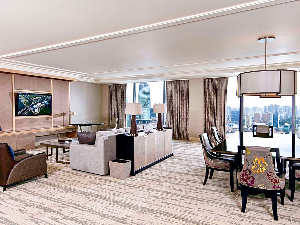 Skyline Suite at Marina Bay Sands Hotel