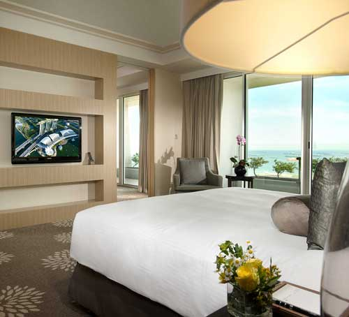 Bay Suite of Marina Bay Sands Hotel in Singapore