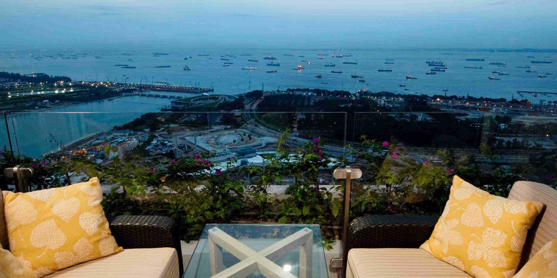 Chairman Suite with Garden View at Marina Bay Sands