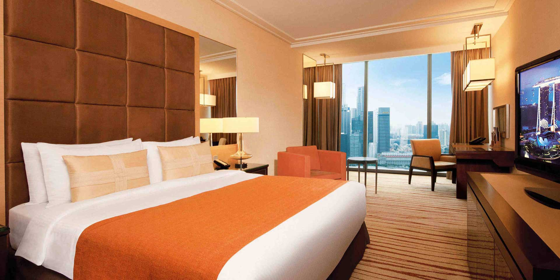 Deluxe room in marina bay sands singapore hotel for Best private dining rooms twin cities