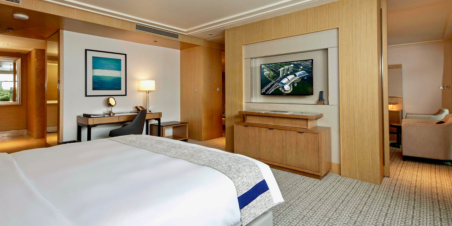 Family room in marina bay sands singapore hotel - 2 bedroom hotel suites singapore ...