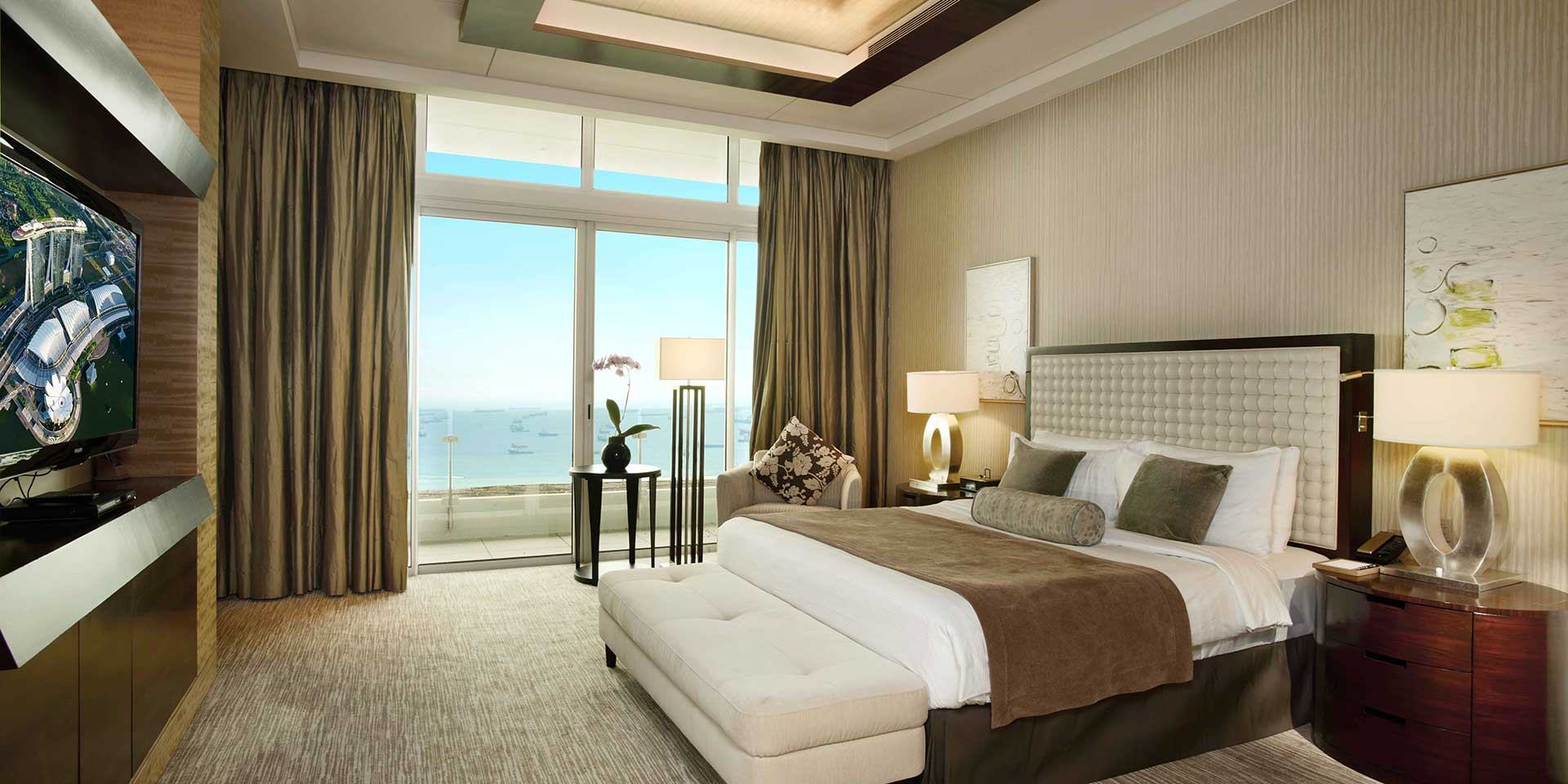 Marina Suite In Marina Bay Sands Singapore Hotel