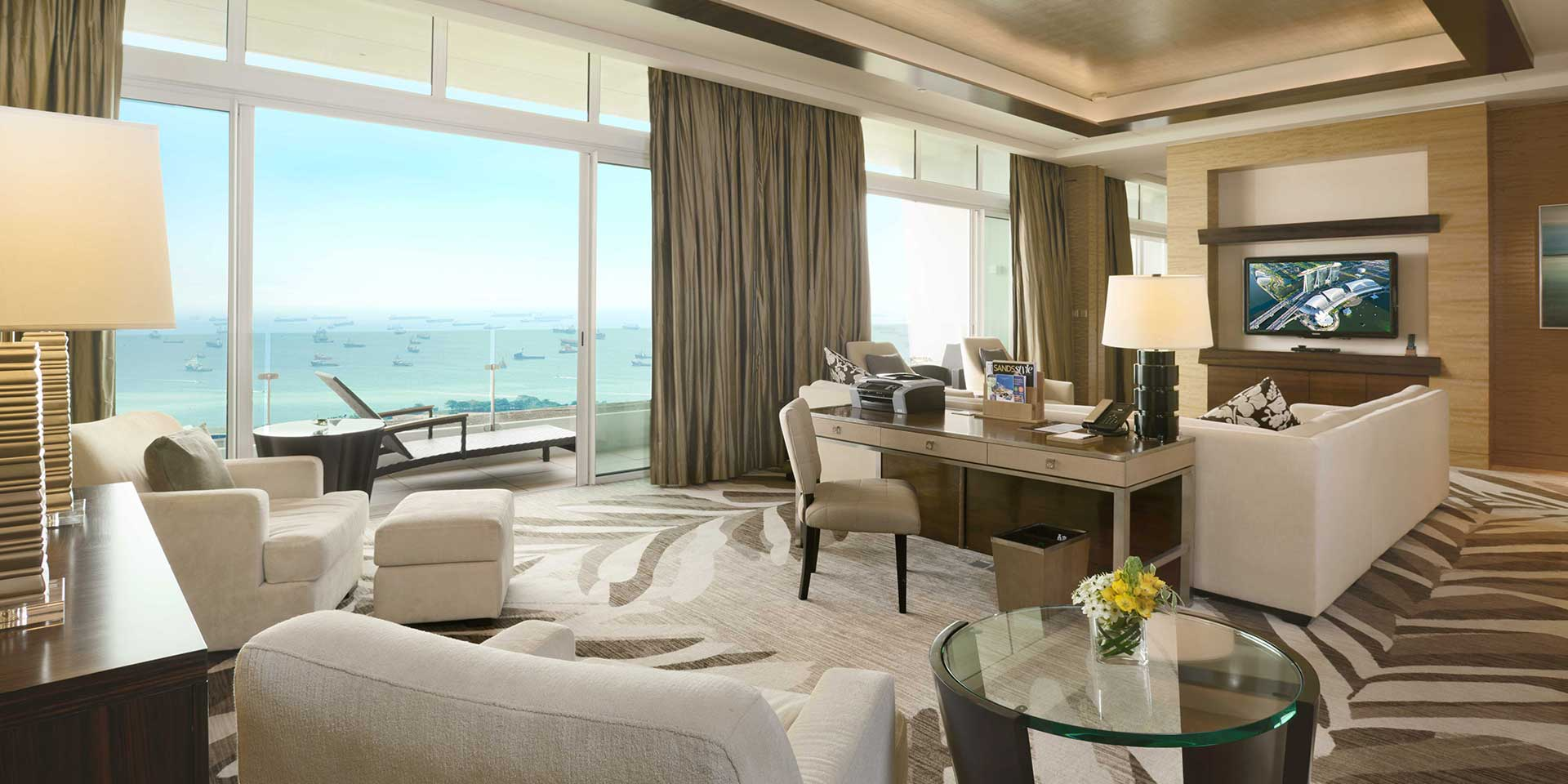 Marina Suite Living Room
