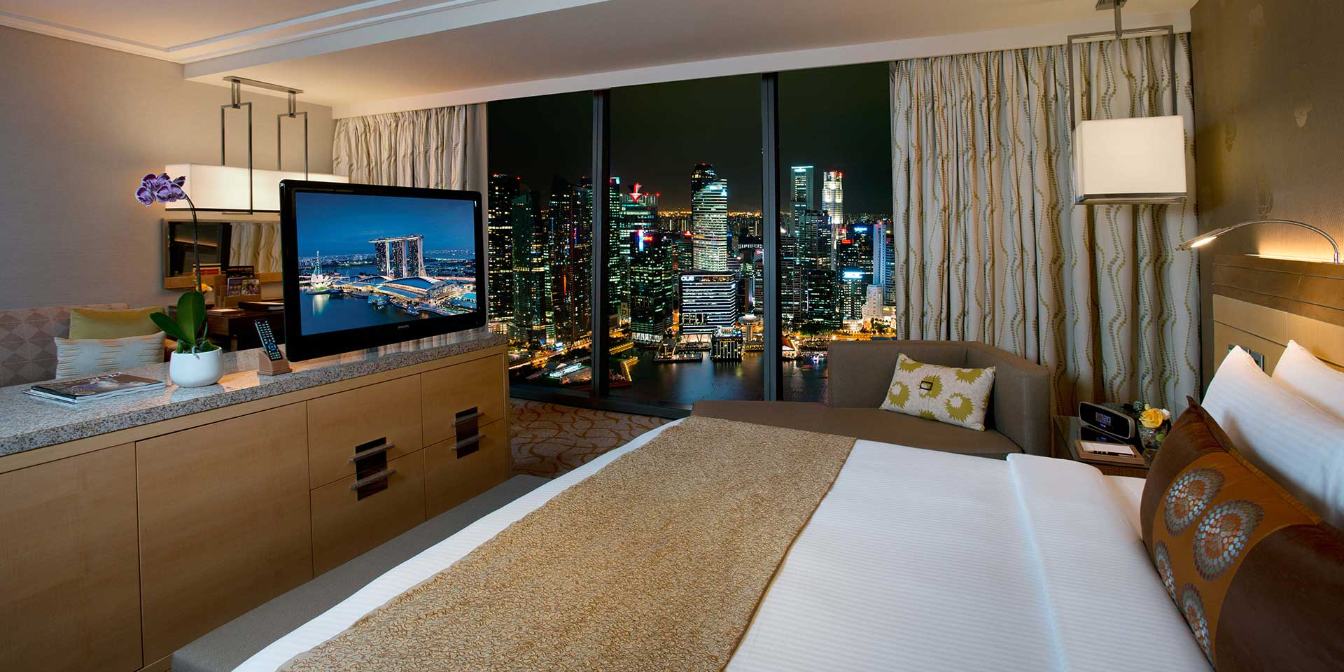 Orchid Suite In Marina Bay Sands Singapore Hotel