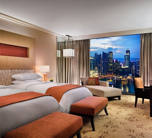 Singapore Hotel Rooms & Suites In Marina Bay Sands