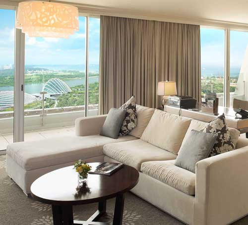 Sands Suite of Marina Bay Sands Hotel in Singapore