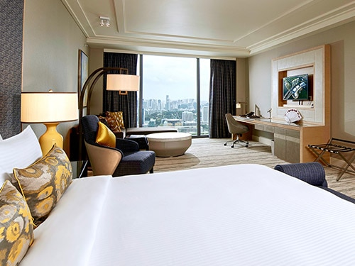 Skyline Suite of Marina Bay Sands Hotel in Singapore