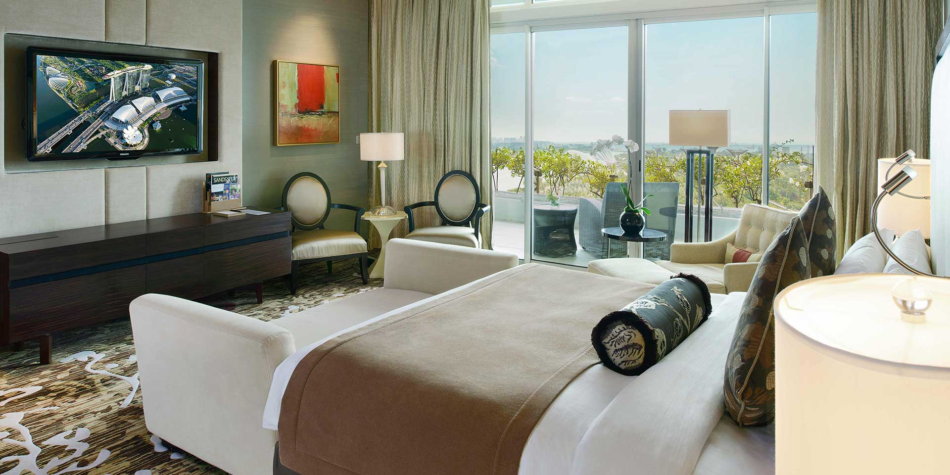Straits Suite with City View, at Marina Bay Sands