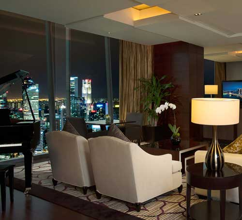 Straits Suite of Marina Bay Sands Hotel in Singapore