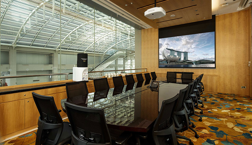 Business Centre meeting room at Sands Expo & convention centre