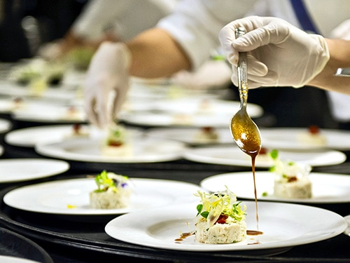 Food Catering for Meetings at Sands Expo & Convention Centre