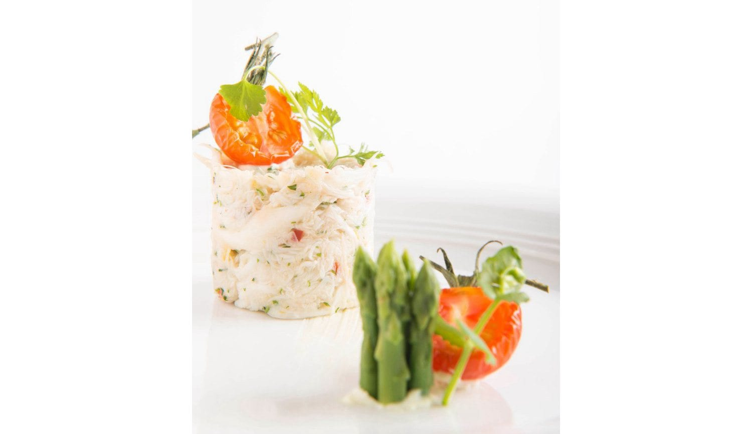 Harvest Menu Signature Dishes - Tian of Lump Crab Salad