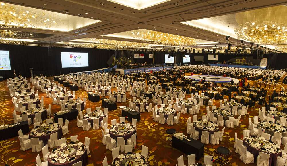 Banquet in Sands Grand Ballroom