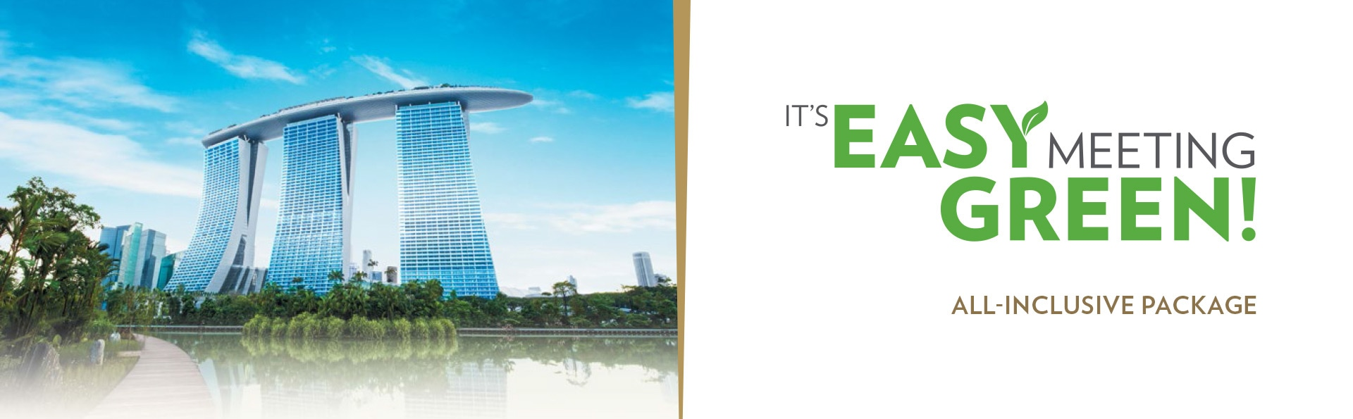 Green Meeting Packages in Marina Bay Sands