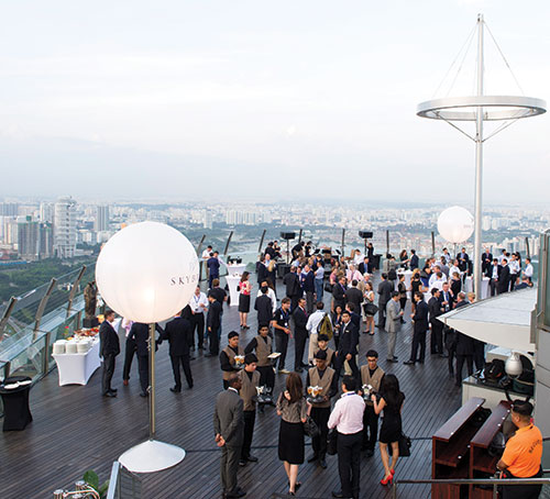 Special Events at Marina Bay Sands
