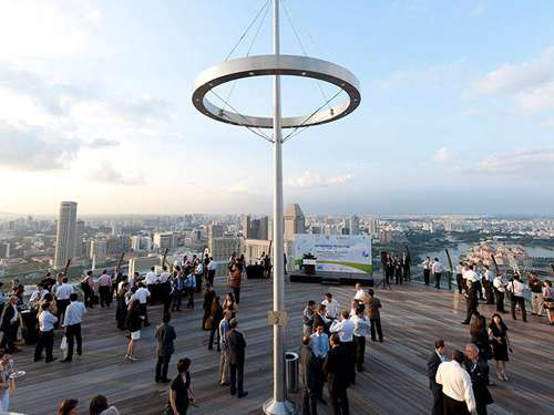 Special Events at Sands SkyPark - Unique Meeting Venue in Singapore
