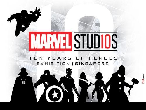 Marvel Studio First 10 Years Traveling Art