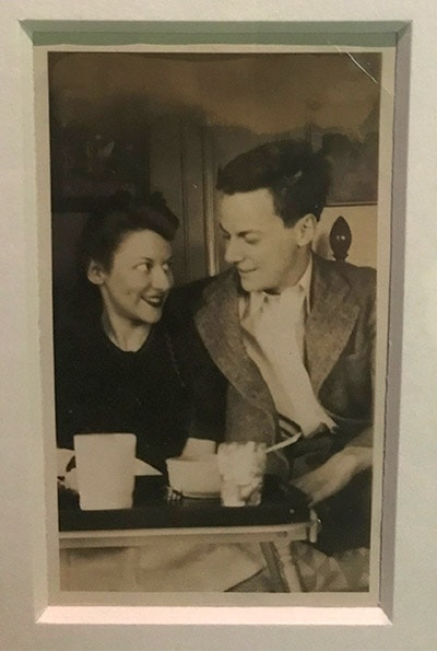 Photo of Feynman and Arline