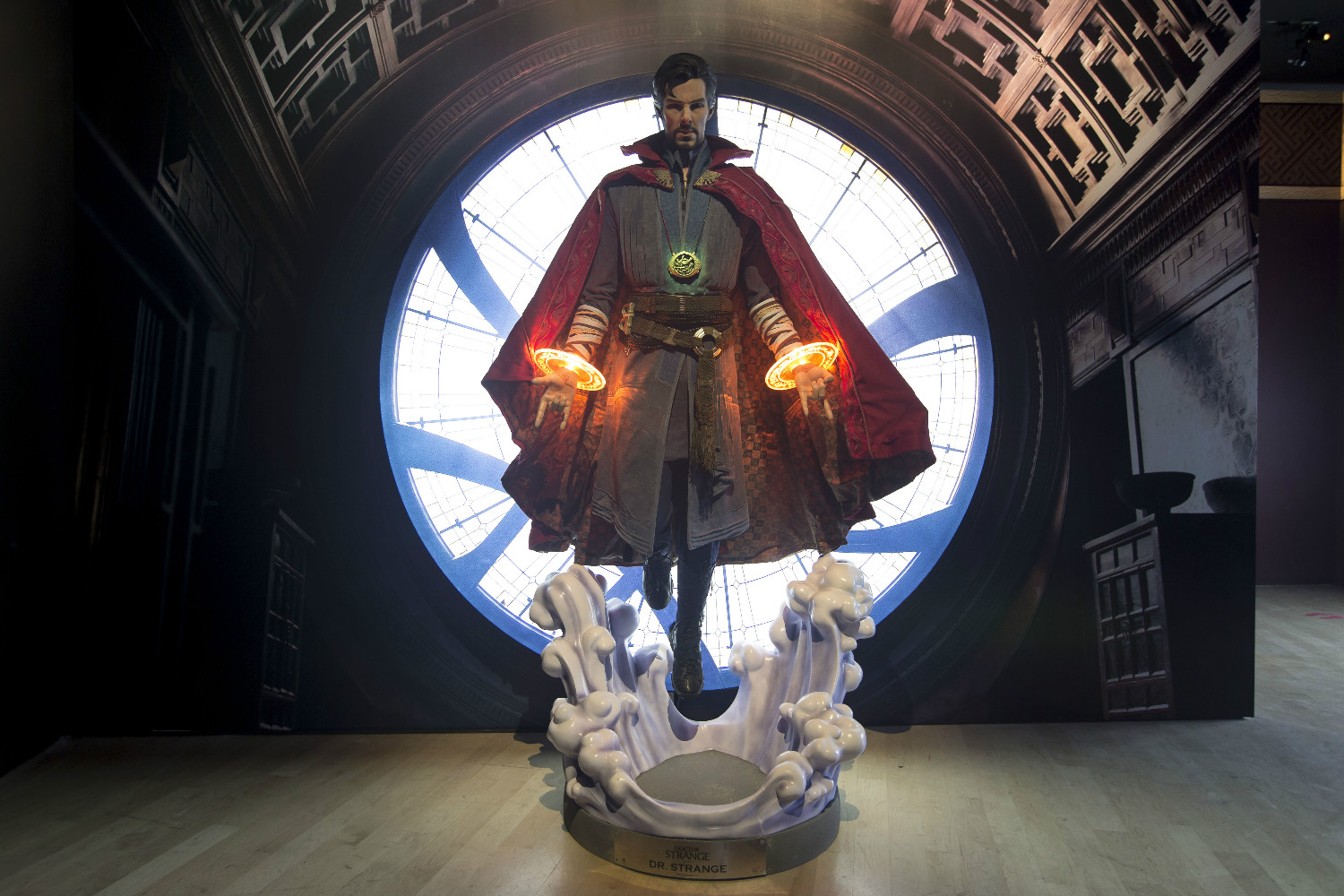 doctor-strange - Marvel Exhibition at ArtScience Museum