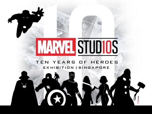 Marvel Studios: Ten Years of Heroes exhibition at Marina Bay Sands
