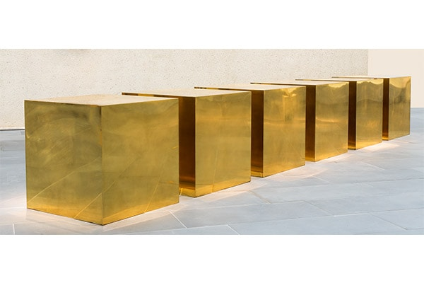 Untitled (Six Boxes) by Donald Judd (1974)