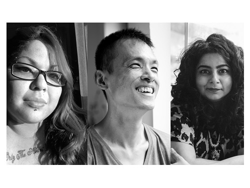 ArtScience Late Speak Sing Machinery with Tania De Rozario and Pooja Nansi and Cyril Wong