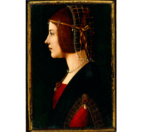 Portrait of a Lady by Lombardy and Emilia
