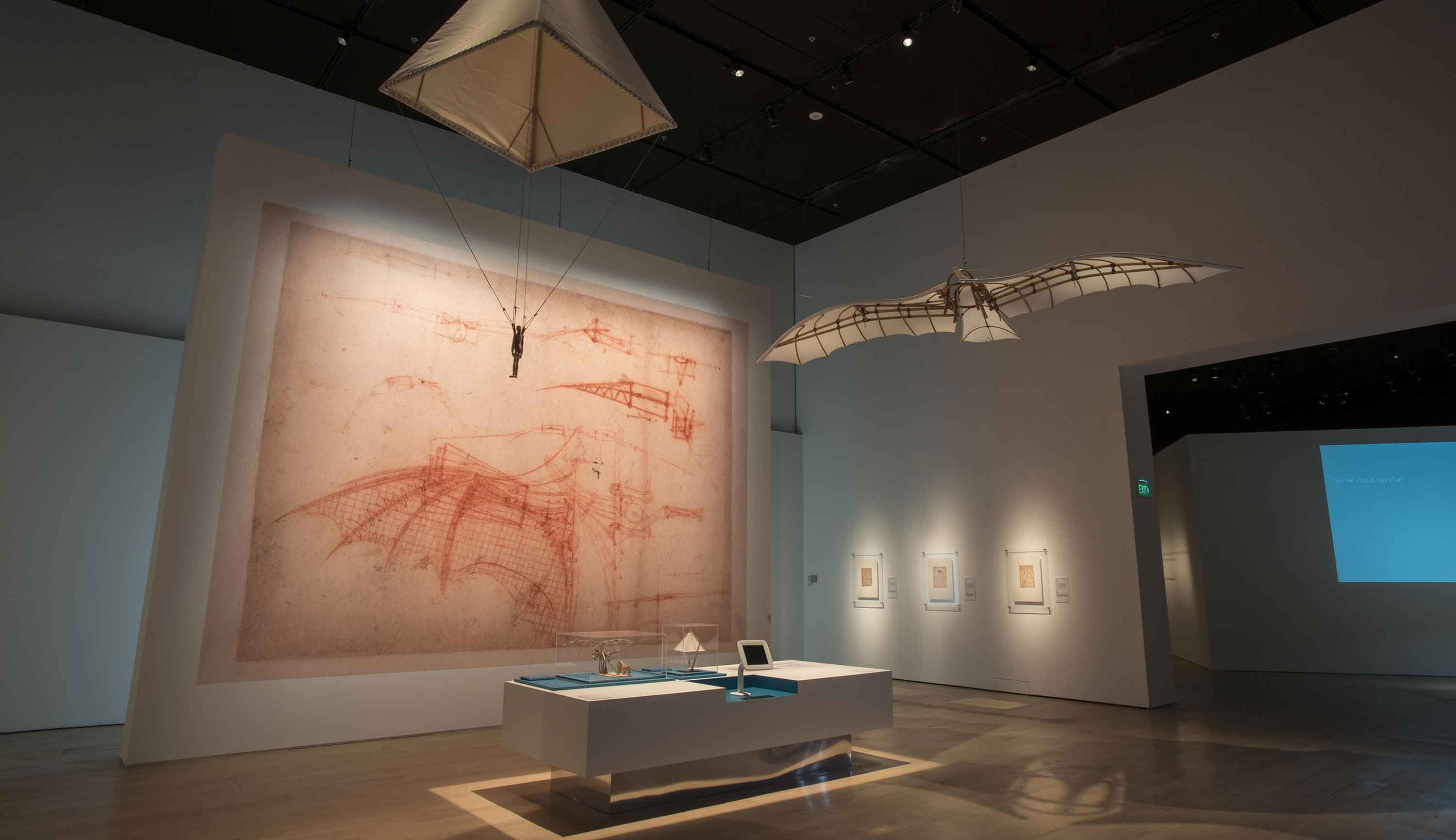 Da Vinci Natural Science Exhibit Gallery Image