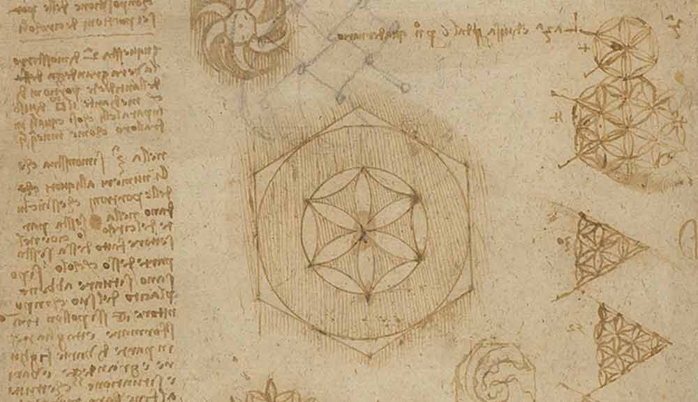 """Star"" of Bisangoli  Circa 1517—18  F.459 recto  Leonardo da Vinci  Codex Atlanticus"