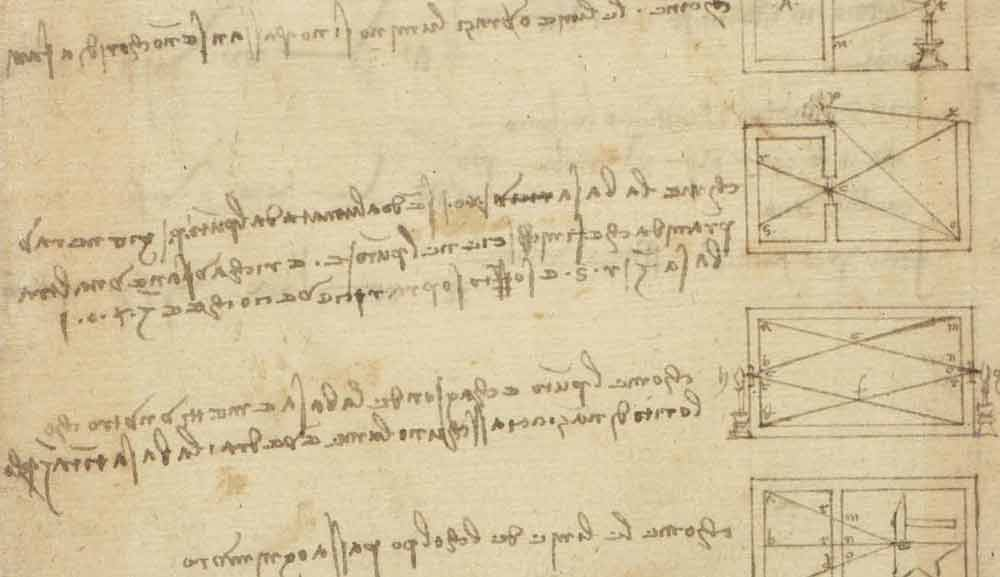 Analogies on Optics and Acoustics Concerning Light and Sound Waves Circa 1467—90  F.347 recto  Leonardo da Vinci Codex Atlanticus