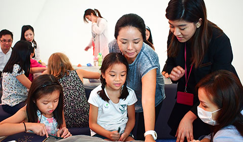 Family Fridays - Public Programmes at ArtScience Museum