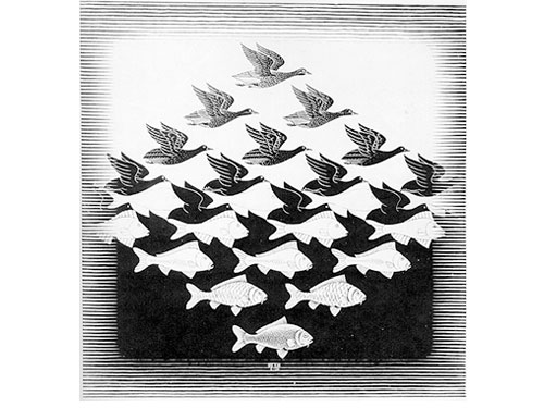 M.C.Escher at ArtScience Museum