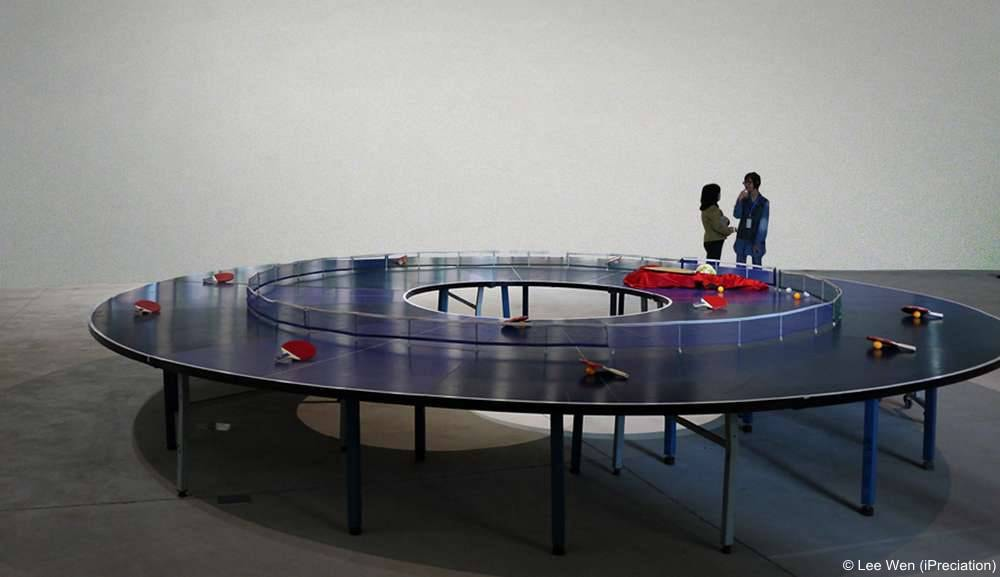 Ping Pong Go-Round by Lee Wen (iPreciation)