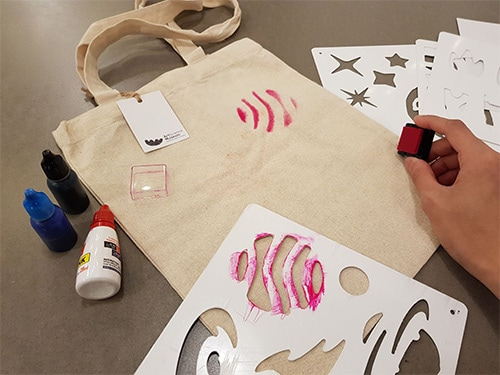 Make Your Own Tote Bag Workshop at Marina Bay Sands